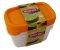 Obrázok Curver sada dóz na potraviny obdĺžnik 3 x 0,5 l 07609-729